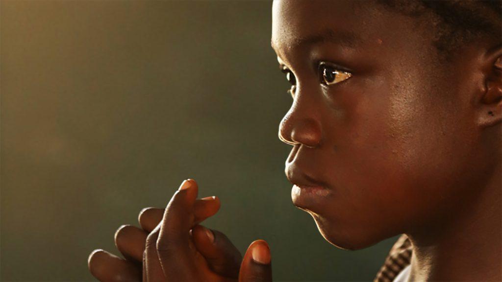 A girl from Sierra Leone, Africa.